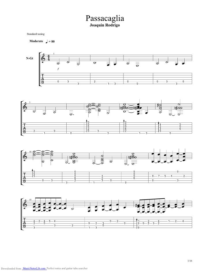 concierto de aranjuez guitar tab pdf