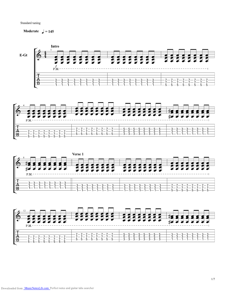 Closer To The Edge Guitar Pro Tab By 30 Seconds To Mars