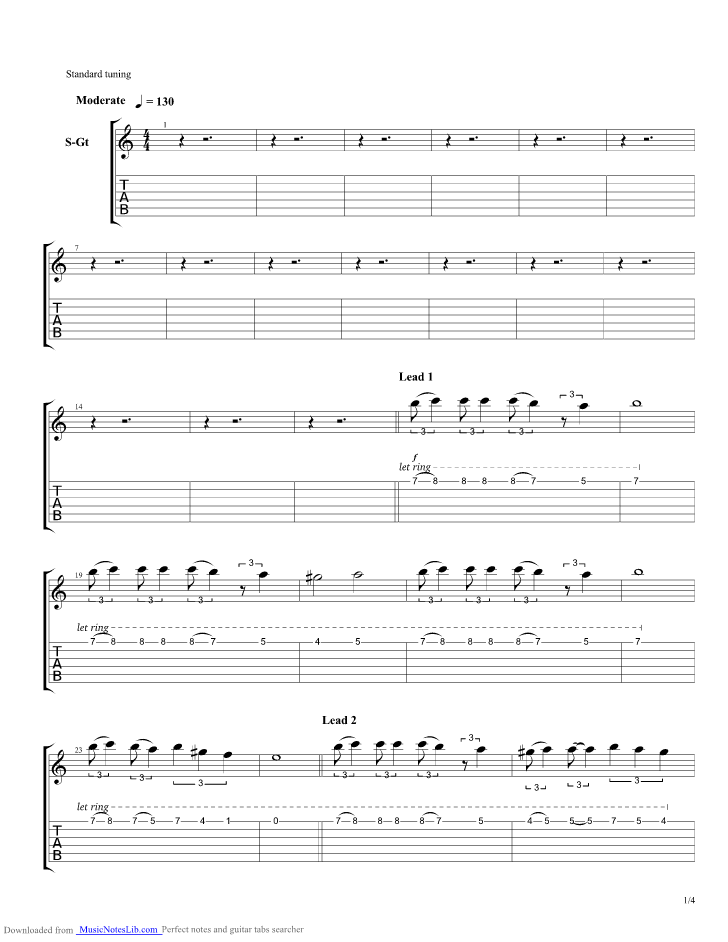 Age Of Mythology Theme guitar pro tab by Misc Computer Games @ musicnoteslib.com