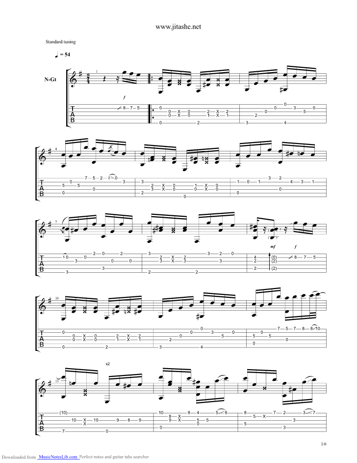The look of love guitar chords
