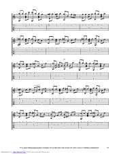 I Miss You guitar pro tab by Per-olov Kindgren @ musicnoteslib.com