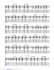 Seize The Day guitar pro tab by Avenged Sevenfold ...