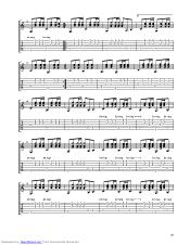 Mexico guitar pro tab by CAKE @ musicnoteslib.com