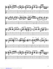 Choros No1 guitar pro tab by Lobos Heitor Villa @ musicnoteslib com